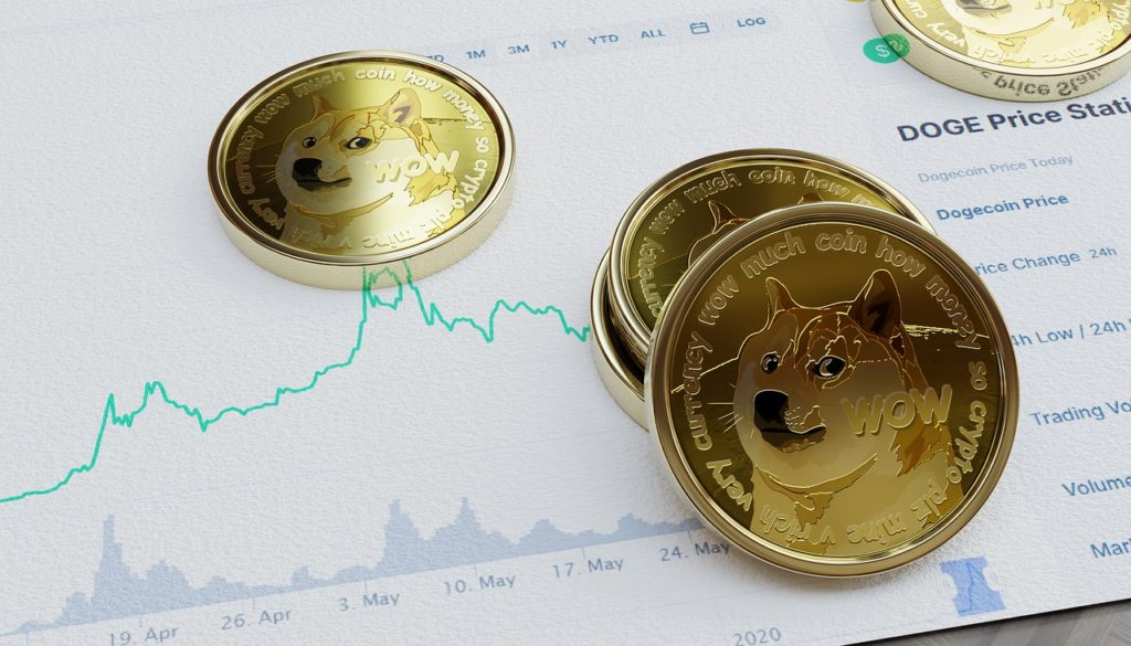 Dogecoin Coins Cryptocurrency - KNFind / Pixabay