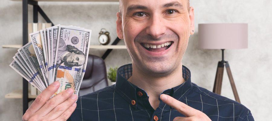 Man Money Happy Pointing Gesture  - StanislavKondrashov / Pixabay
