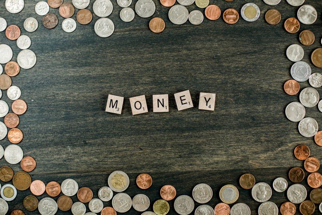 Money Coins Letter Tiles Finance - Gunjan2021 / Pixabay